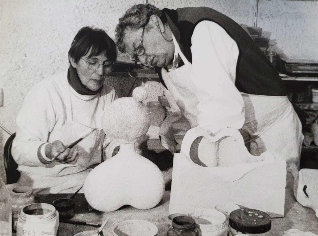 Jacotte und Roger Capron